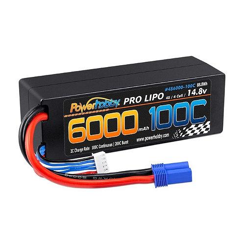 Powerhobby 4s 14.8v 6000mah 100c Lipo Battery