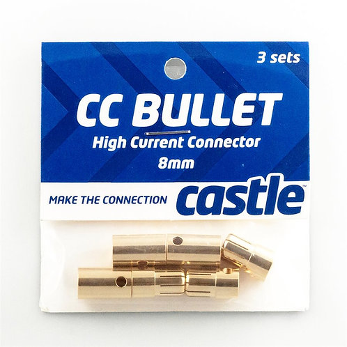 Castle Creations 8MM Bullet Connectors