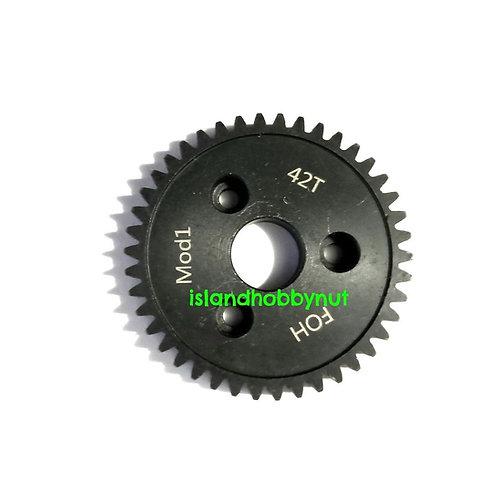 42T Mod-1 Spur Gear *Hardened steel*