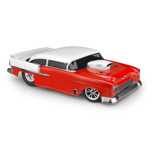 JC CONCEPTS 1955 Chevy Bel Air, Street Eliminator Drage Race Clear Body JCO0365