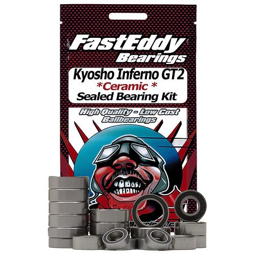 FASTEDDY Kyosho Inferno GT2 Ceramic Rubber Sealed Bearing Kit