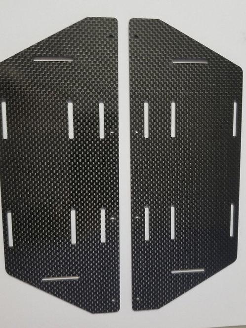HOBAO GTB CARBON FIBER BATTERY TRAYS