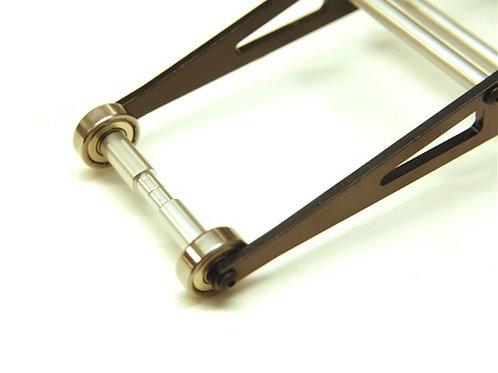 STRC Silver Wheelie Bar Kit, for Associated DR10 SPTSTC71071S