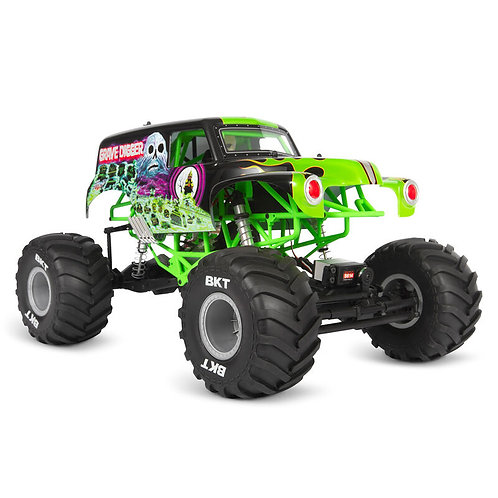 AXIAL 1/10 SMT10 Grave Digger 4WD Monster Truck Brushed RTR AXI03019