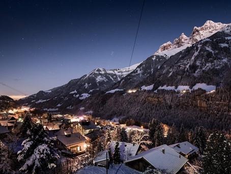 Prettiest Ski Resorts in the Swiss Alps!
