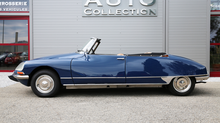 Citroën ds 21 cabriolet avril 1968