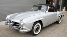 "Mercedes 190 sl ""restauration totale"""