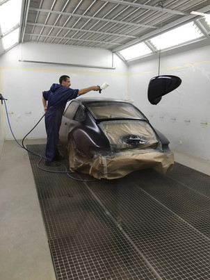 RESTAURATION CARROSSERIE PORSCHE 964