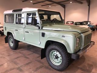 Land Rover Defender - 400 kilomètres