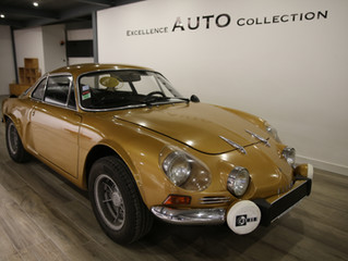 RENAULT ALPINE A110 V85 couleur OR origine rare - 85 000€