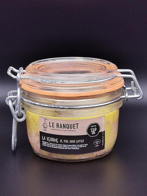 Foie gras de canard entier 130 grs