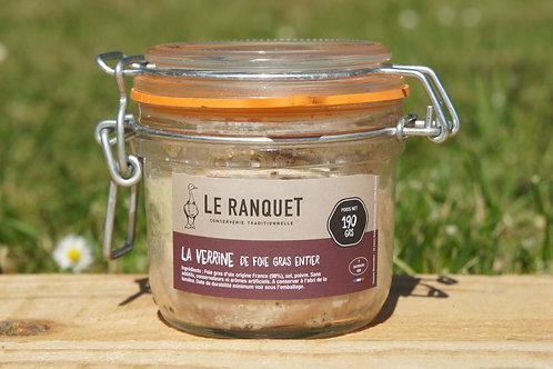 Foie gras d'oie entier 190 grs