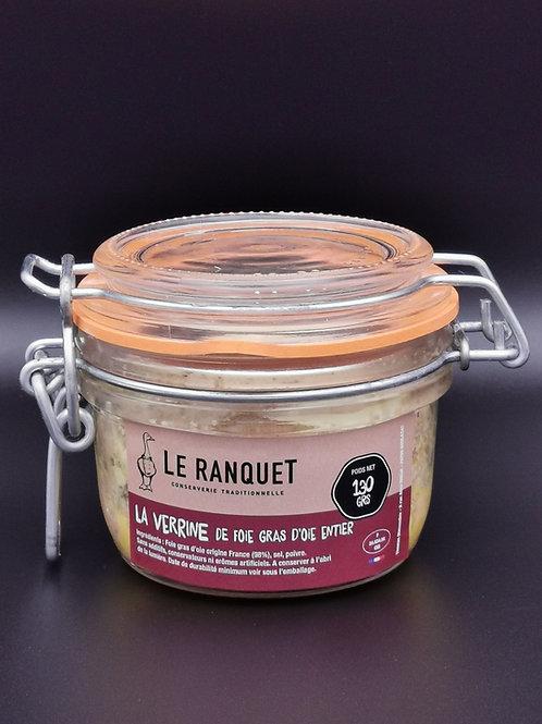 Foie gras d'oie 130 grs
