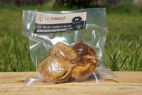 Figues fourrées au foie gras X4