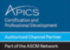 APICS Authorized Channel Partner Brand M