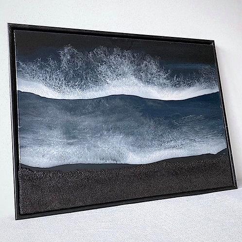 BLACK SAND BEACH - 60x80