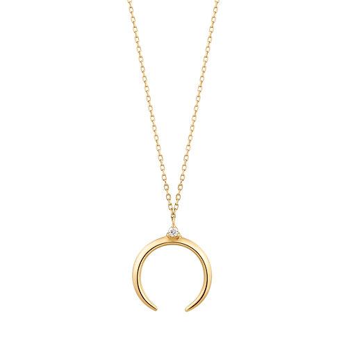 GLORIA | Diamond Arc Necklace