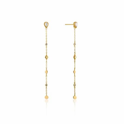 Gold Dream Drop Earrings