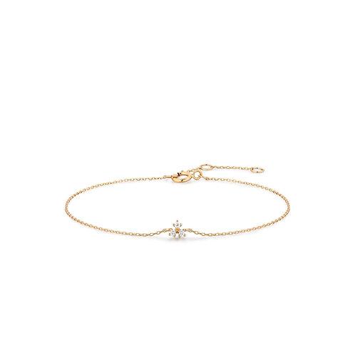 CLOVER | Diamond Bracelet
