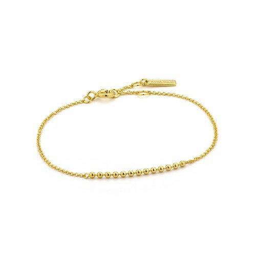 Gold Modern Multiple Balls Bracelet