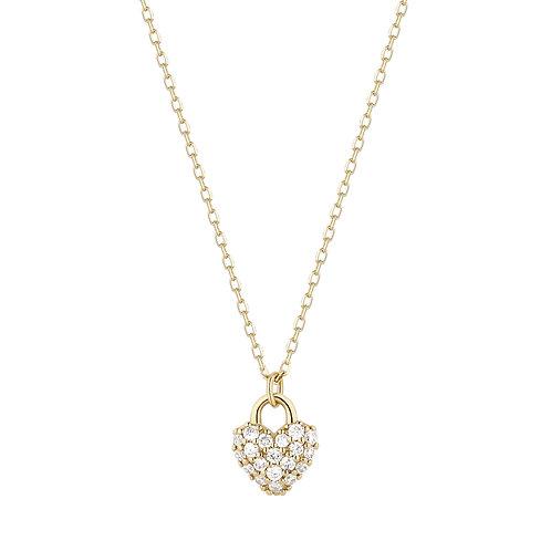 BELLA | Diamond Heart Pendant
