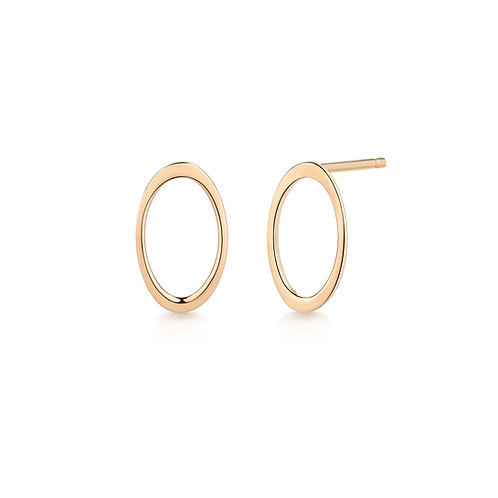 IRENE | Open Oval Earrings