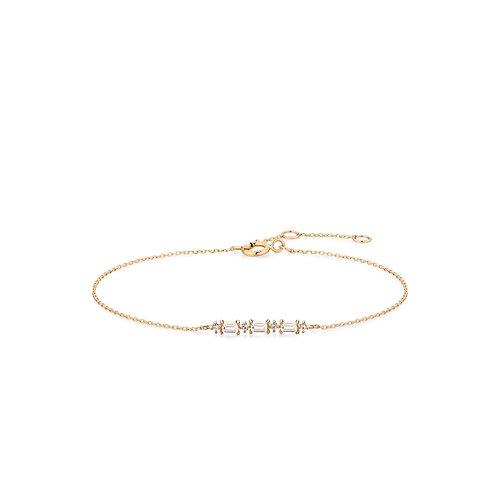 ARIANA | Topaz Baguette Bracelet