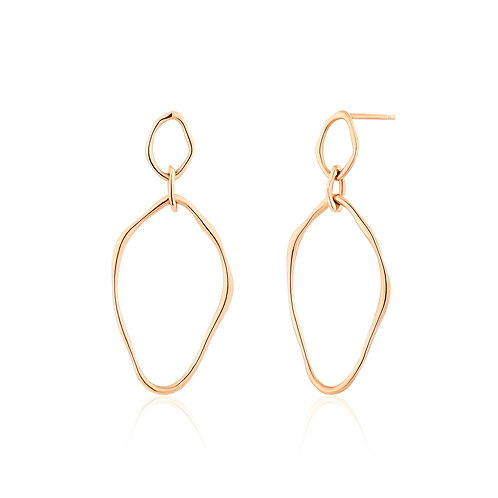CELINE | Double Loop Earrings