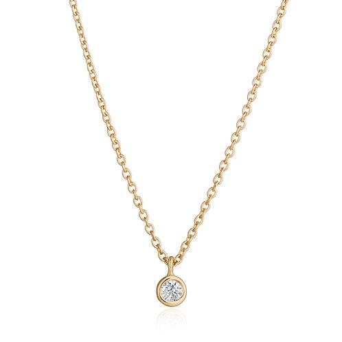 BRIA | Diamond Solitaire Pendant