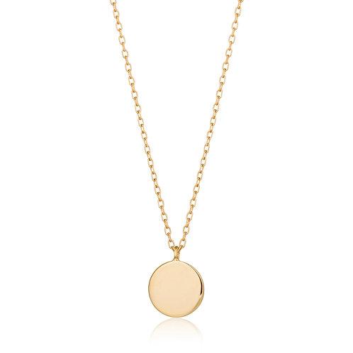 DOT | Shiny Disc Necklace