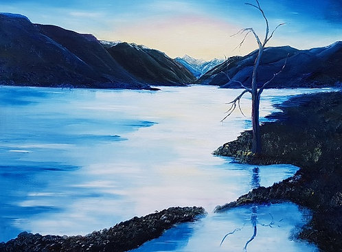 Lake Wakatipu Early Evening