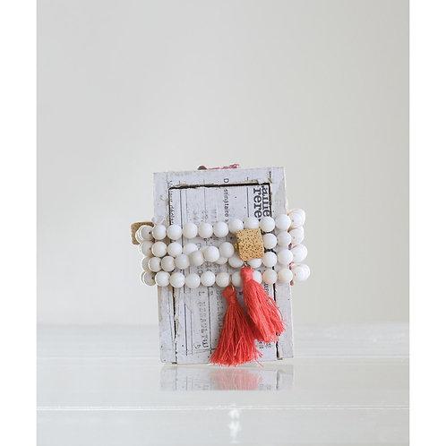 Nahele Bracelet Set in Ruby