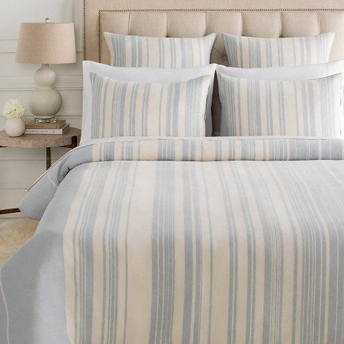 Averi Blue Stripe Bedding