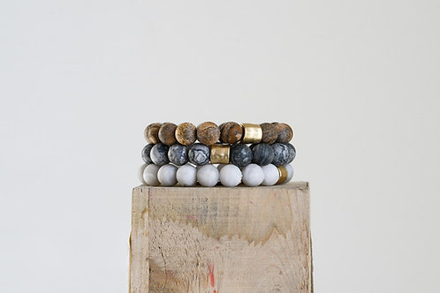 Keone Stone Bracelet Set of 3