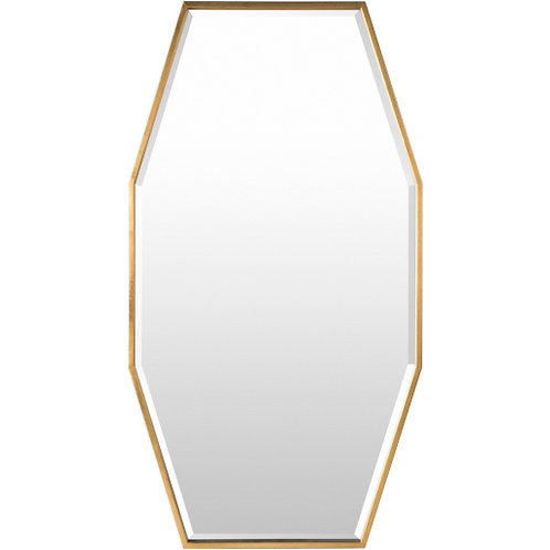 Braelyn Gold Mirror Small