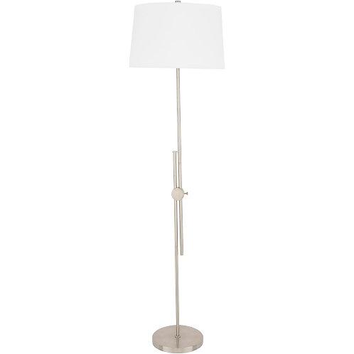 Sutton Antiqued Silver Floor Lamp