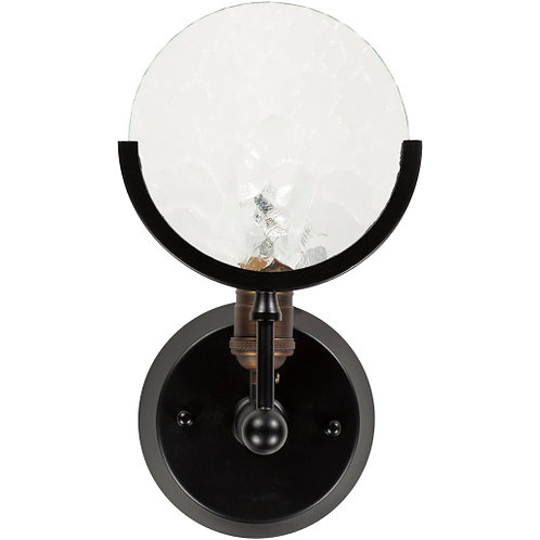Sylvie Black Sconce Small