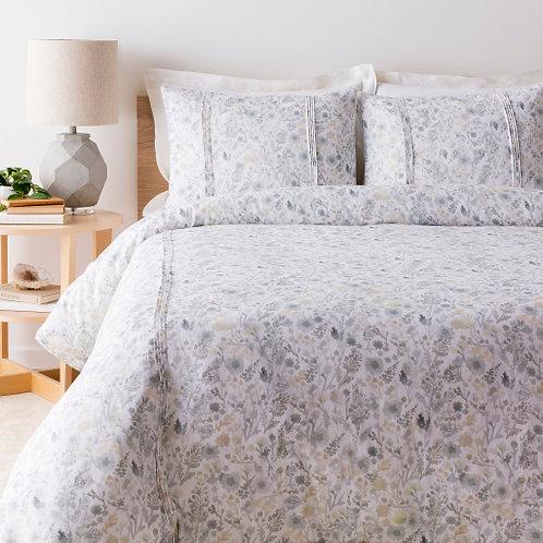Sage Floral Bedding Set