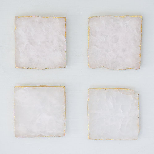 Rosalei Agate Coasters Set of 4