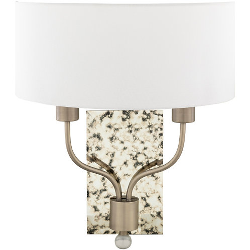Bailee Pewter Sconce