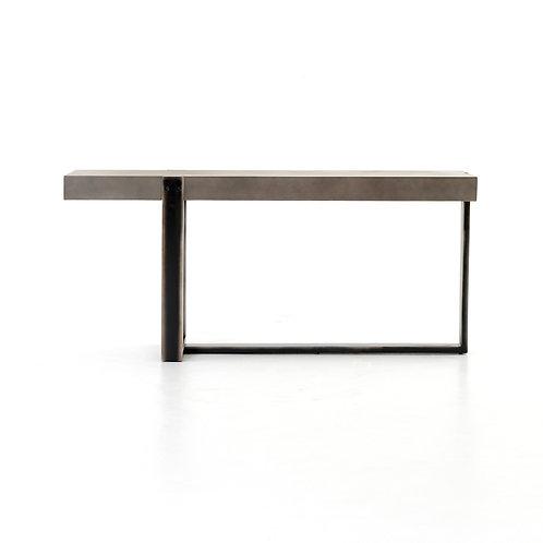 Concrete & Iron Console Table