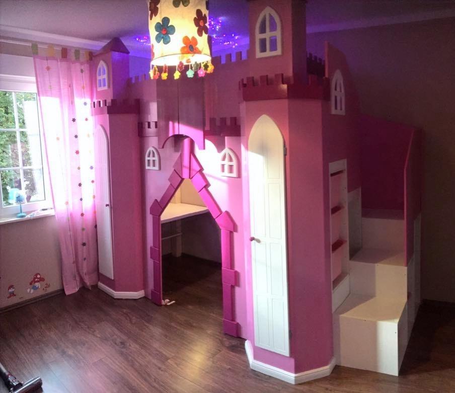 Prinzessinnen-Hochbett