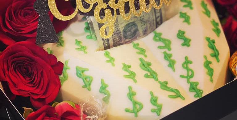 MONEY ROLL CHOCOLATE HEART