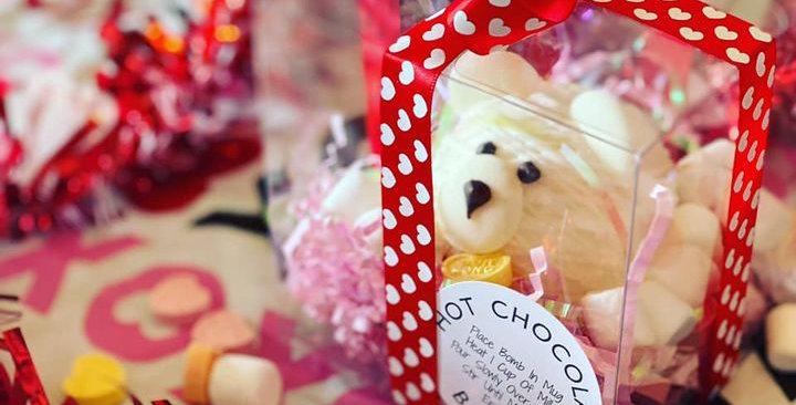 KIDS VALENTINE CLASSIC HOT CHOCOLATE  BOMB (SINGLE)