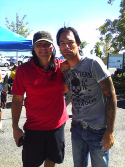 With Mark Slaughter
