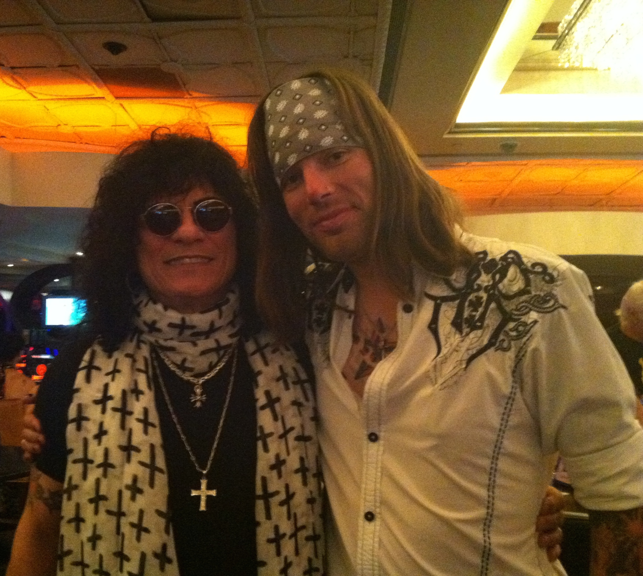 With Paul Shortino