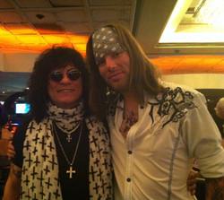 With Paul Shortino