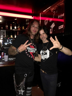 With Tommy Black