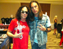 With Nick Menza Of Megadeth