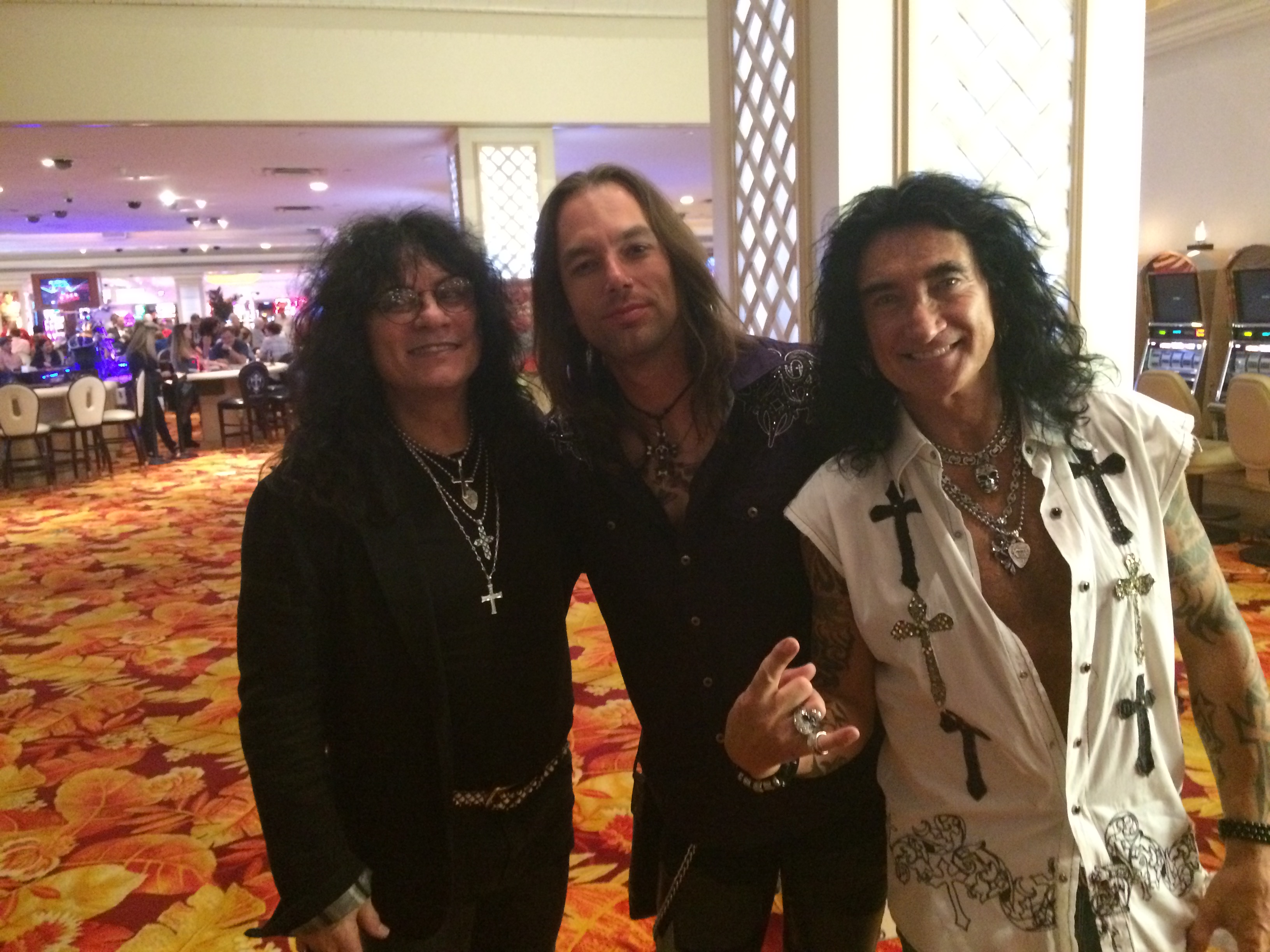 With Paul Shortino and Robin McAuley